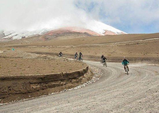 Biking Dutchman: Descending Cotopaxi on a bike