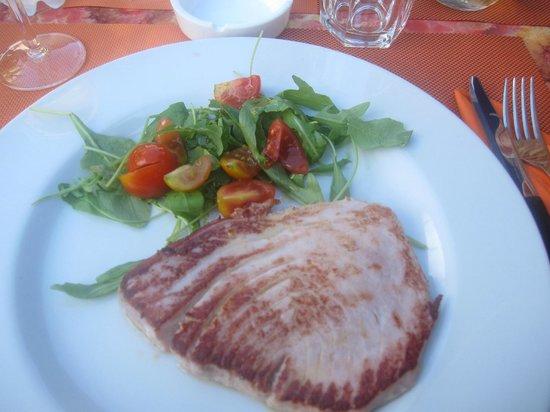 Locanda Navene: Filetto di tonno