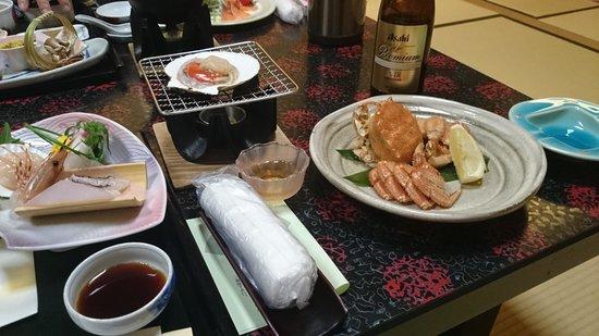 Kaisenkaku: 夕食はボリュームも満点