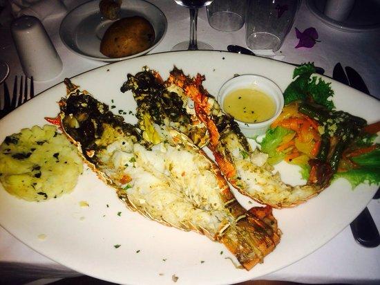 Club Med Cap Skirring: Repas spécial langouste