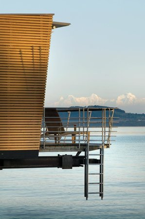 Hotel Palafitte: Your private terrace on the lake