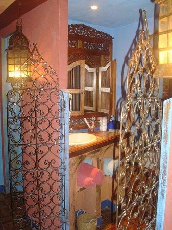 Hotel de Digoine: salle de bain(trop belle!!!!!)