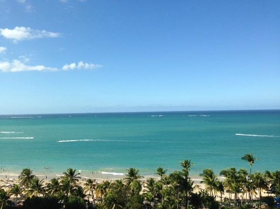 InterContinental San Juan: The view from the 14th Floor