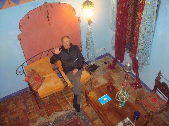 Hotel de Digoine: petit salon super coucooning!!!!