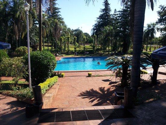 Hostel Inn Iguazu: View from the front door of the hostel.