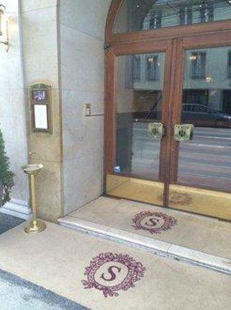 Hotel Sacher Salzburg: Eingang