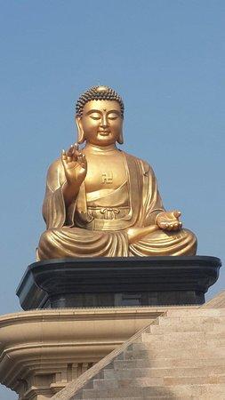 Fo Guang Shan Buddha Museum: 在四聖搭地藏殿拍攝