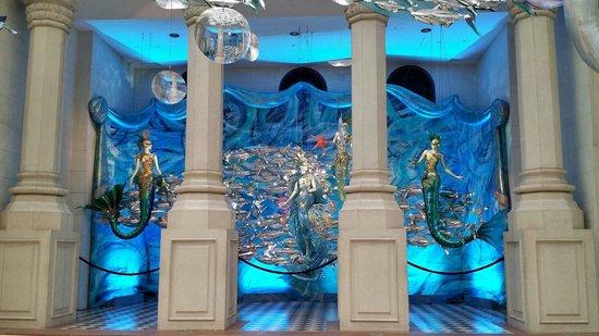 MGM Macau : Under the Sea theme at MGM
