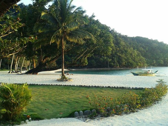 Secret Paradise Resort & Turtle Sanctuary : In front of restaurant
