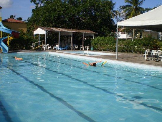 Viver Hotel Fazenda: Água naturalmente morna