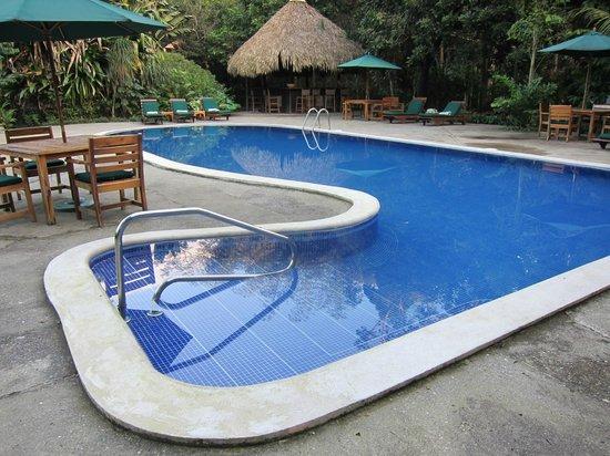 The Lodge and Spa at Pico Bonito: pool at the lodge