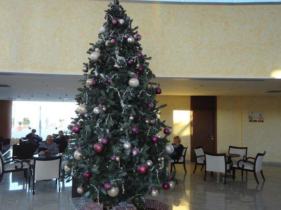 Las Costas: Weihnachtsdekoration in der Lobby