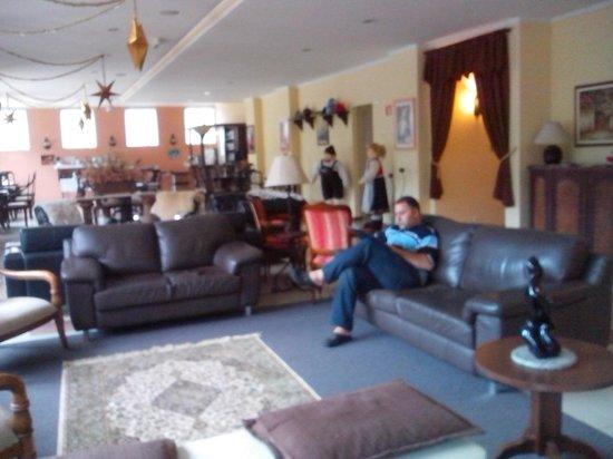 Pousada Castelo Hanisch : Sala de estar ampla