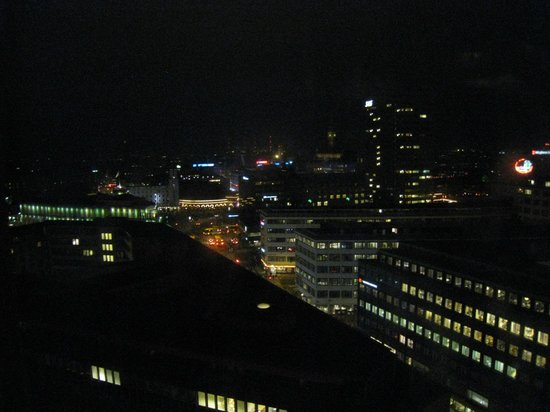 Scandic Copenhagen: View of city from 14th floor