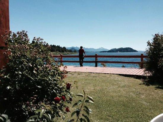 Apart del Lago: Relajadora vista del lago desde mi habitación