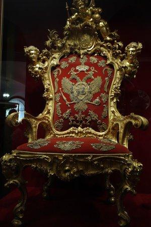 Resultado de imagen de trono de los romanov