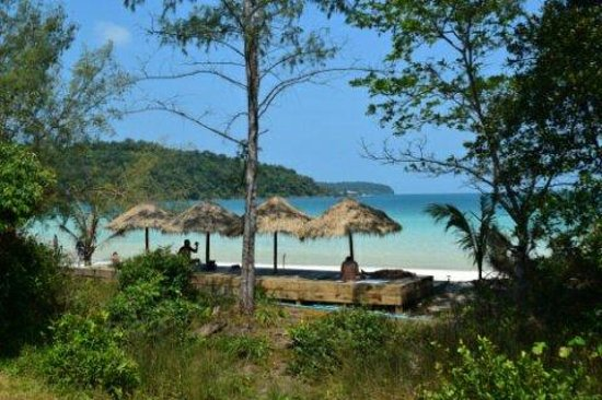 The Beach Island Resort & Beach Club : View from the dorm