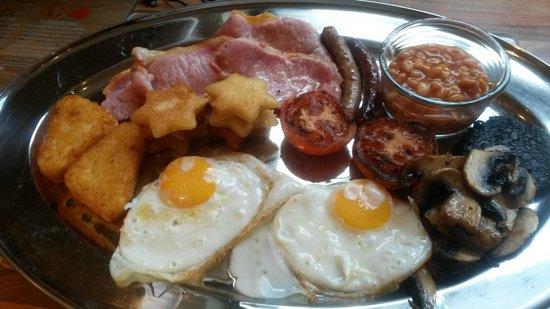 Plas Newydd Farm B&B: Full breakfast