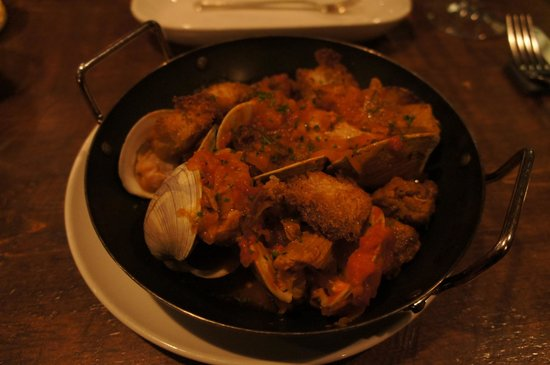 Hen of The Wood: Pork Shoulder with Clams