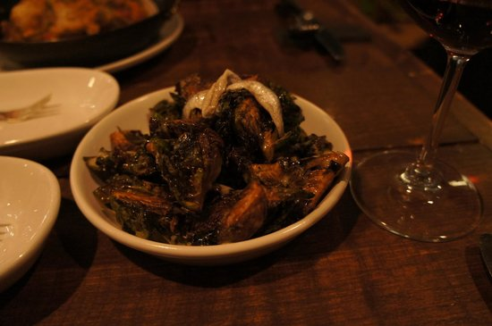 Hen of The Wood: Brussels Sprouts