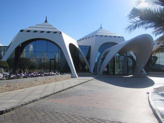 The Emirates Golf Club : entrance
