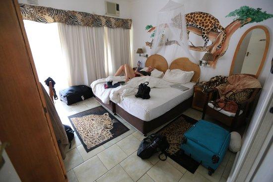 Bhangazi Lodge: Zimmer