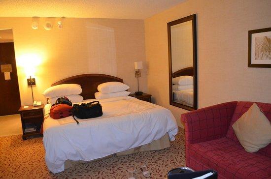 Boca Raton Marriott at Boca Center: nosso quarto
