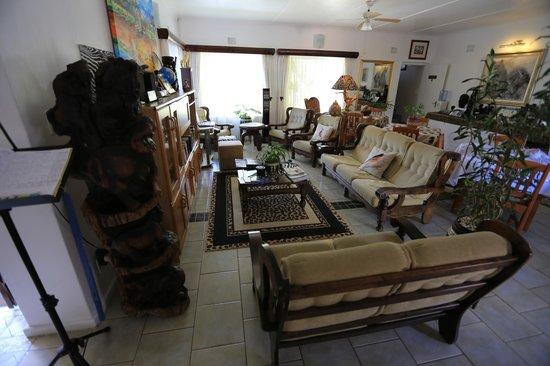Bhangazi Lodge: Innenraum