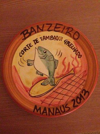 Banzeiro: Prato da boa lembrança ainda de 2013 sendo servido em fevereiro/14. Muito boa pedida.