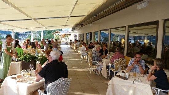 Hotel Resmairhof: Panorama terras !