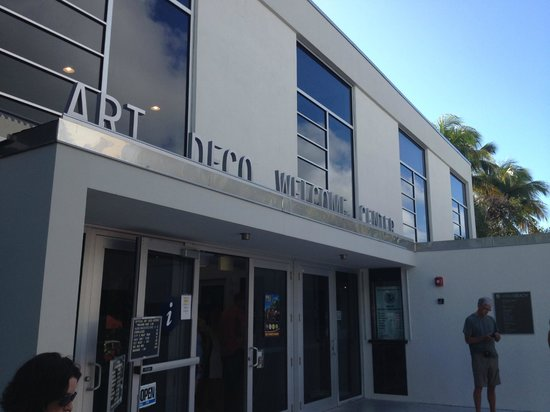 Art Deco Historic District: The Art Deco Walking tour starts here