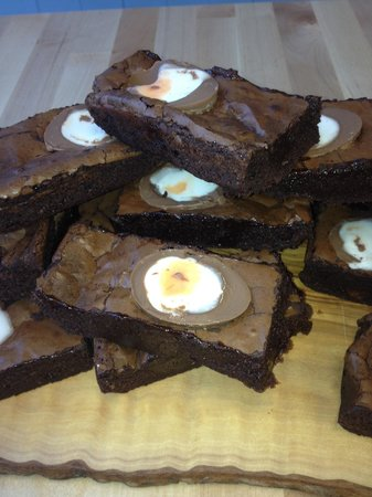 The West Country Deli: Creme Egg Brownies