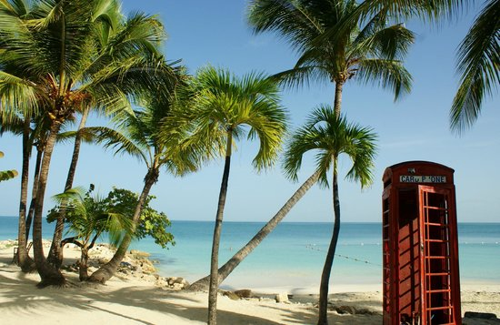 Siboney Beach Club: Take your photo in our historic phone booth