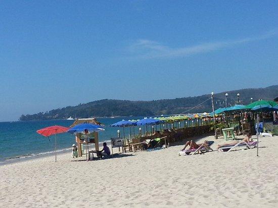 Stranden ved Angsana Laguna Phuket