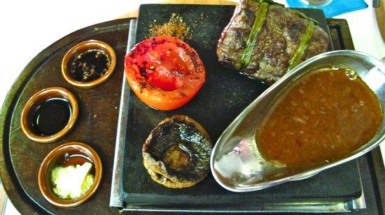 Glaze Bali: steak