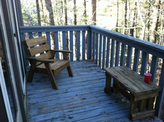 Unicoi State Park & Lodge : Deck Area