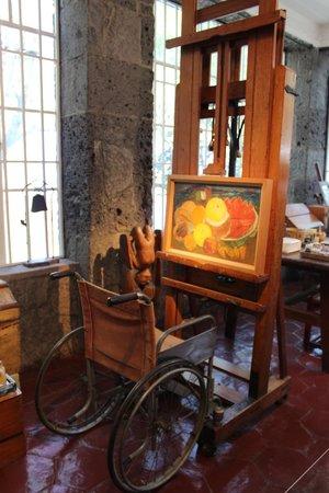 Musée Frida Kahlo : Frida's work space