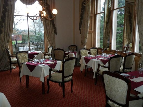 Mansfield House Hotel: DINNING ROOM