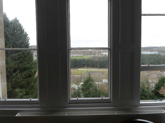 Mansfield House Hotel: VIEW FROM ROOM No 6
