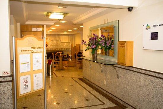 Vilamar Copacabana : Recepção do Hotel