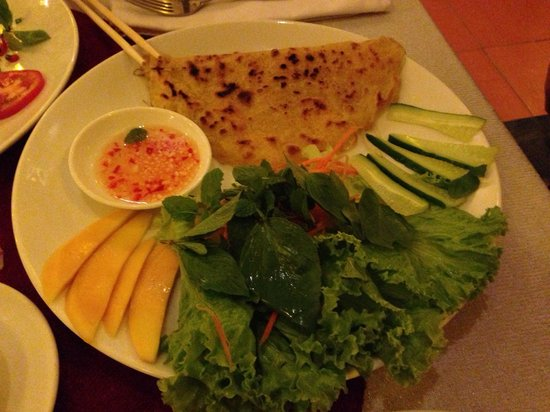Red Dragon Restaurant & Cooking classes: Banh xeo