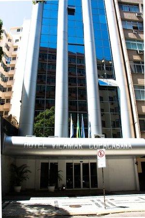 Vilamar Copacabana : Entrada do Hotel