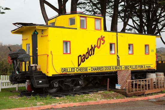 Daddy-O's: caboose