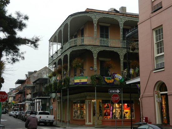Balconies picture of french quarter new orleans for French quarter balcony