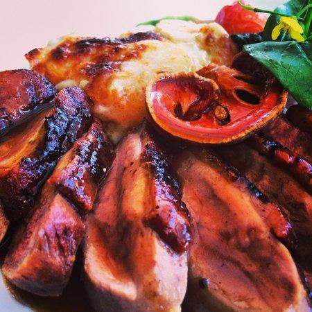 L'Elephant Restaurant: main dish