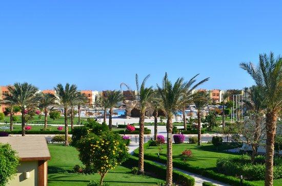 SUNRISE Select Royal Makadi Resort: view from family room