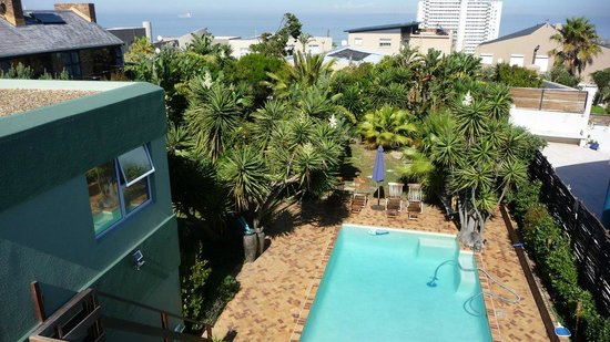 Secret Garden Guesthouse: view from accessible roof