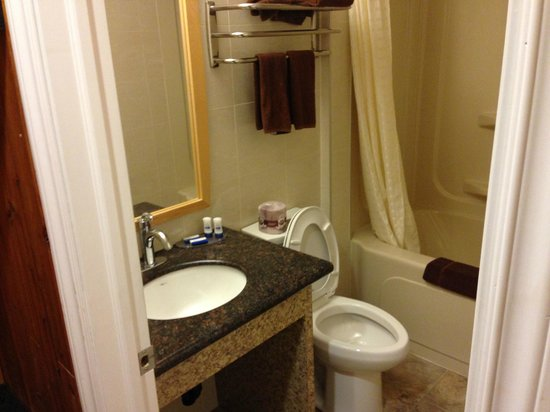 Woodland Motor Inn: Newly renovated bathroom