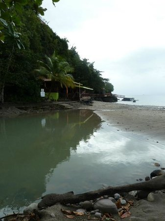 Ti Kaye Resort & Spa: Beach Restaurant hidden in here !!