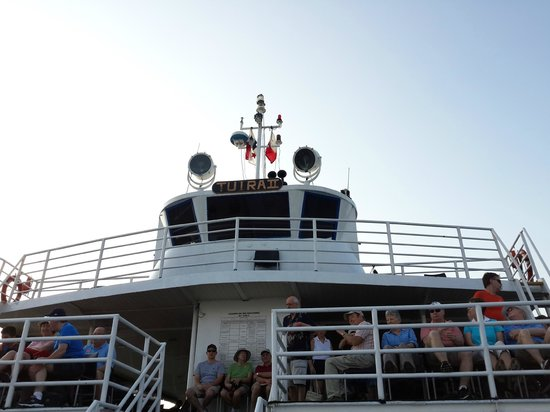 Panama Canal Tours: Our ferry